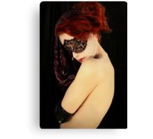 My Eyes Whisper Secrets That I Keep Covered  II Canvas Print