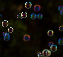 Coloured Bubbles by Nick Sage