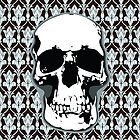 221B Skull Print by favoritedarknes
