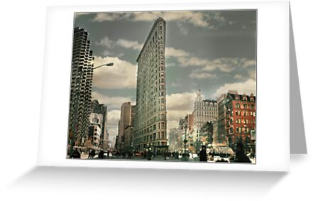 New York The Flatiron Building by Tunde Kulina
