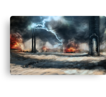 Arc Towers Canvas Print