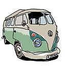 Vw splitty  by smallishfish