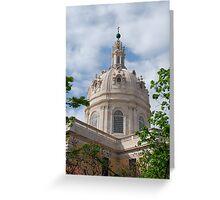 Basilica Da Estrela in Lisbon Greeting Card