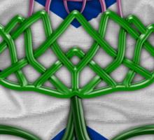 Celtic Knot Thistle Sticker