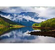 Loch Leven Reflections. North West Highlands. Scotland. Photographic Print