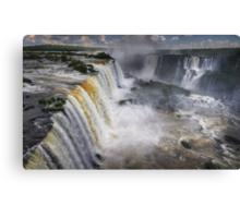 Waterfall Maelstrom Canvas Print