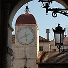 Trogir Clock Tower by Elena Skvortsova