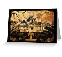 The Raid at Berlin Reichstag Greeting Card