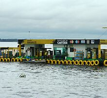Floating Service Station by Maggie Hegarty
