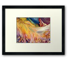 Abstract Colors Framed Print