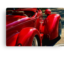 """"""" The Red Knight in 1937 """" Canvas Print"""