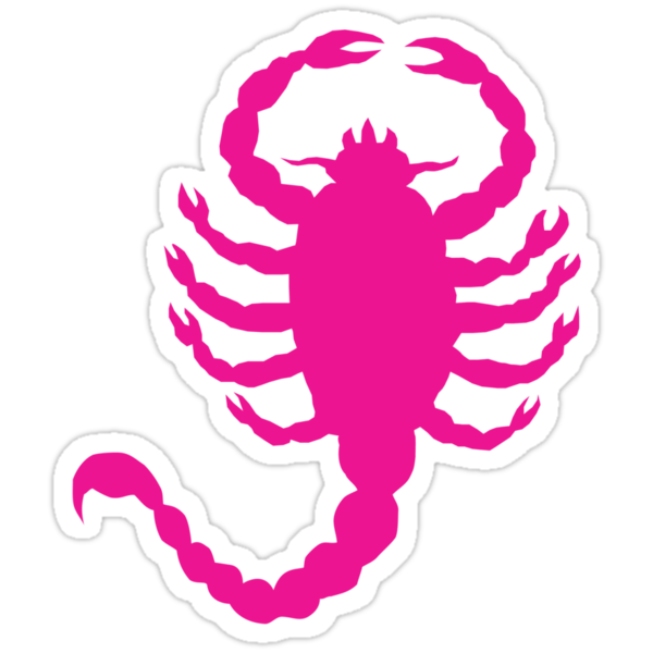 DRIVE SCORPION (PINK) by DREWWISE