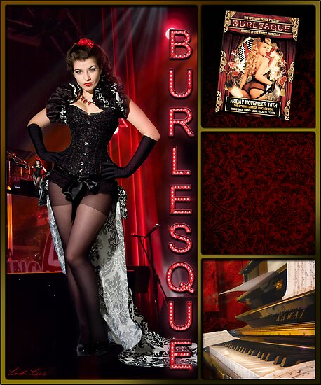 Dance series - Burlesque by Linda Lees