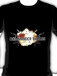 Commander Badass Logo T-Shirt