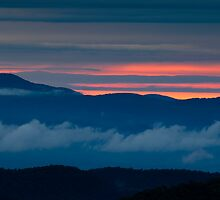 Dawn in the Blue Ridge Mountains by andrewsound95