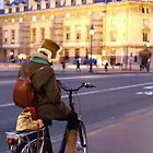 Biking in Paris by Ben Fatma Marc