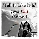 'Tell It Like It Is' feature banner by Maree Cardinale