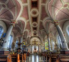 Derby Cathedral Nave - Vertorama by Yhun Suarez