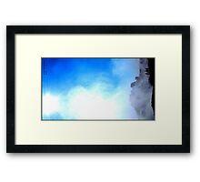 Mist over Vic falls Framed Print