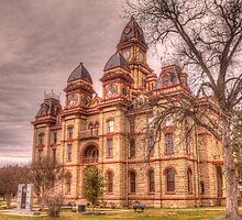 Caldwell County Courthouse by Terence Russell