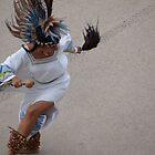 Aztec Dancer II - Bailarina Azteca by Bernhard Matejka