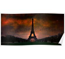 Bonsoir Paris Poster