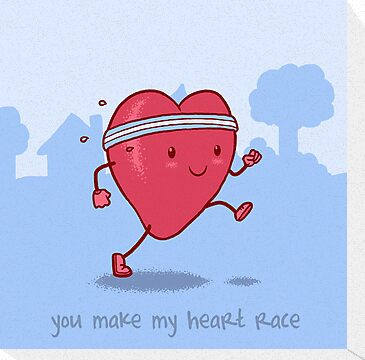 You make my heart race by Nathan Joyce