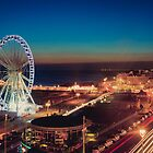 Brighton CityScape at Night II by photomadly