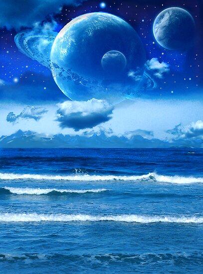 Blue Earth by Healyboy