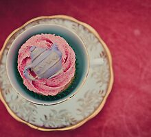Cake in a Teacup by Erika  Szostak
