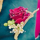 Mad Hatter's Buttonhole by Erika  Szostak