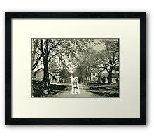 Civil War Ghost Framed Print