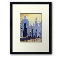 Prague Charles Bridge 03 Framed Print