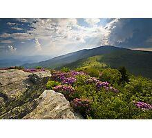 Roan Mountain From Appalachian Trail Near Jane's Bald Photographic Print
