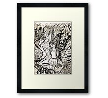 let me tell you a story.... Framed Print
