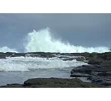 Crashing wave Photographic Print