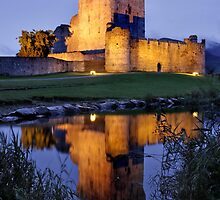 Ross Castle, Ireland by Pierre Leclerc