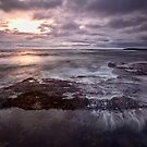 Barely A Sunrise - Blackwoods Beach, NSW by Malcolm Katon