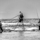 Fishing On Tray-Pot by HG. QualityPhotography