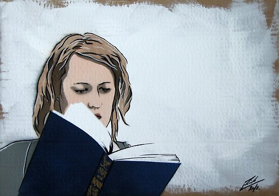 The Novel Reader Painting by Richard Yeomans