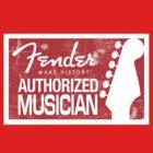 Authorized Musician by Alternative Art Steve