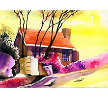 Red House Photographic Print