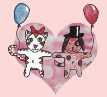 Kitty Loves Puppy by Tane (10) Kids Clothes