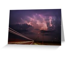 The Electric Highway Greeting Card
