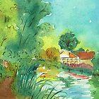 Canal Scene - Pelsall by Lynne  Kirby