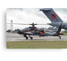 RNLAF AH-64D Canvas Print