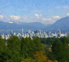 Vancouver Skyline by Tom  Reynen
