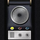 Star Trek Communicator Old School  by AWESwanky
