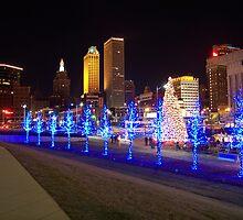 Tulsa Oklahoma Winterfest  by Elizabeth Burton