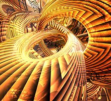 Abstract that Twisted Escher Fx by GAdamOrosco